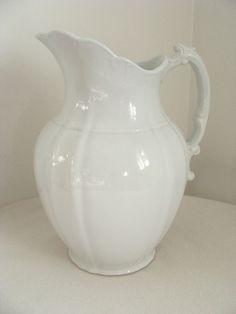 ironstone milk pitcher