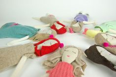 Rag dolls by Snuggly Ugly