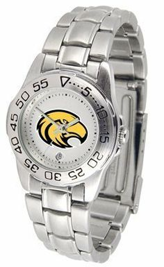 Southern Mississippi Golden Eagles Suntime Ladies Sports Watch w/ Steel Band by Sun Time/Links Warner. $49.95. The Ladies Sport Steel watch by Suntime features your favorite team logo in a European styled stainless steel case with a stainless steel strap and security buckle.