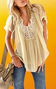 cute summer top, jeans