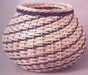 Pattern: Diagonal Weave Wicker Basket By Dianne Stanton
