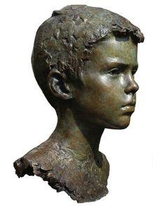 Mark Richards ~ Gabriel Bronze. Life size. 2009