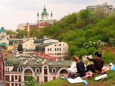 Castle Hill, Kiev, Ukraine
