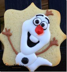 Frozen Movie Cookies   Treat Day Wednesday–Frozen Sugar Cookies