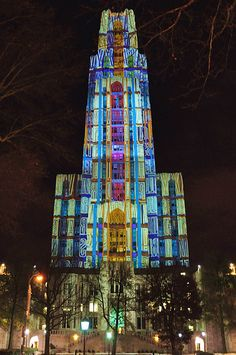 Cathedral of Learning, Pittsburgh by charness, via Flickr