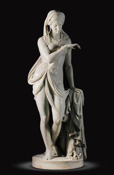 Scipione Tadolini (1822-1892) - Italian, Rome, 1860. LA SCHIAVA GRECA (THE GREEK…