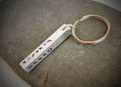 UK based seller. Men's personalised keyring. Perfect for Father's Day. £10
