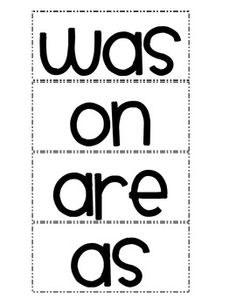 36 Word Wall Words Every 1st Grader Should Know