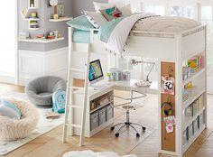 Etagenbett Teenager : Chelsea vanity loft bed birthday list 2016 pinterest zimmer