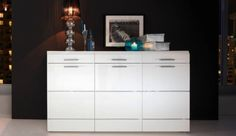 16 Best Sideboards Images In 2017 High Gloss Cabinets Adjustable