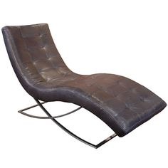LFE Leather Chaise