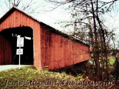 Covered Bridge photography rustic country decor by Jemvistaprint, $25.00