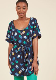Polka Dot Tunic from Modcloth