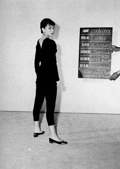 Teste de figurino para Sabrina, 1953