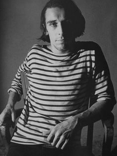 John Cale in Warhol's screen test.