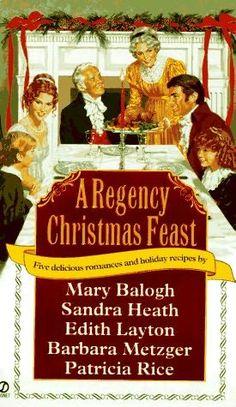 5 Christmas-themed Regency romance novellas. Reread.