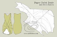bien adaptado: Modelo del rompecabezas - Papel de la torcedura de la túnica