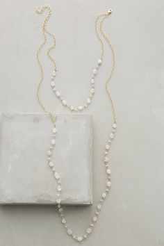 at anthropologie Berenice Layered Necklace in white