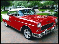 1955 Chevrolet Bel Air 2-door hardtop ... absolutely gorgeous!!