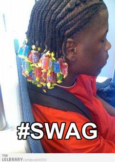 My photo list of fails and wins when it comes to SWAG - this one falls under epic FAIL! funny