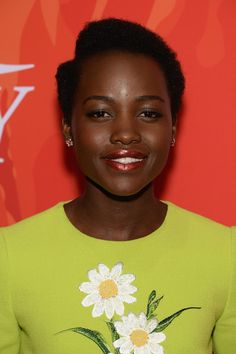 Actress Lupita Nyong'o attends Variety's Power Of Women: New York 2016 at Cipriani Midtown on April 8, 2016 in New York City.