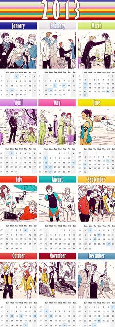 2013 Shadowhunter Calendar! )