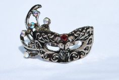 Silver Rhinestone Ring, Mardi Gras Mask Ring - Adjustable - Red Center Stone Value Line, http://www.amazon.com/dp/B0083W5GNI/ref=cm_sw_r_pi_dp_IvU8pb07E17H1