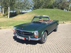 1971 Mercedes - Benz 280SL green