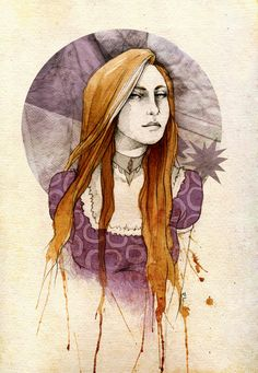 Ashara Dayne by *elia-illustration on deviantART