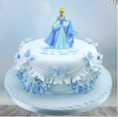 This Week – Princess Cake With Frills Cake Craft Shop, Baby Birthday Cakes, 4th Birthday, Barbie Cake, Disney Cakes, Disney Princess Cakes, Girl Cakes, Celebration Cakes, Themed Cakes