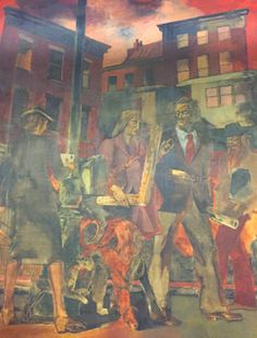 #MERS #NYC #PostOffice #MadisonSquareStation #murals #KindredMcLeary #BriceDailyPhoto