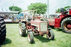 Foreign McCormick 423 International tractor