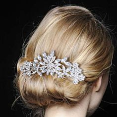 Vintage Style, Wedding Comb, Crytal Wedding Comb, Bridal Hair Piece Comb, Hair Accessories, Wedding Gift-155865666 on Etsy, $22.99