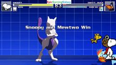 Rainbow Dash And Daffy Duck VS Snoopy The Dog & Mewtwo The Pokemon In A MUGEN Match / Battle / Fight This video showcases Gameplay of Rainbow Dash From The My Little Pony Friendship Is Magic Series And Daffy Duck From The Looney Tunes Series VS Snoopy The Dog From The Charlie Brown And Snoopy Show Series And Mewtwo The Legendary Pokemon In A MUGEN Match / Battle / Fight