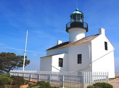 Old Lighthouse Point Loma
