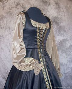Medieval Noble Gown  Custom Made by SpeedyCostumes on Etsy, $240.00
