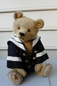 Adorable Antique Ted.....Photo via Ebay