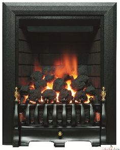 Be Modern Classic Inset Gas Fire has a traditional style trim and fret, that come in a choice of brass, black or chrome finishes