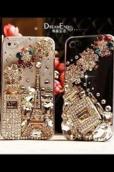 Cell phone cover....I'm in ♥ !  Where can I get this blinged out cell cover?