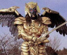 Mighty Morphin Power Rangers villains: Goldar (Takashi Sakamoto, Danny Wayne Stallcup, voiced by Robert Axelrod, Kerrigan Mahan)