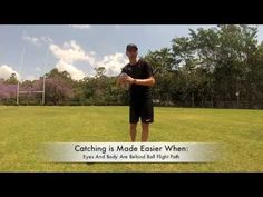 Best Catching Tips For Rugby   (Hand Position) - YouTube