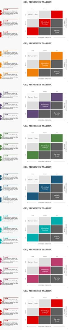 Ansoff Matrix Templates Text color, Graphics and Filing - business balance sheet template