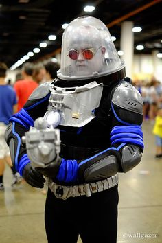 Mr. Freeze #DC #Cosplay at Boston Comic Con 2015 - Tom DeRosa