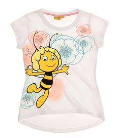 Biene Maja T-Shirt weiß
