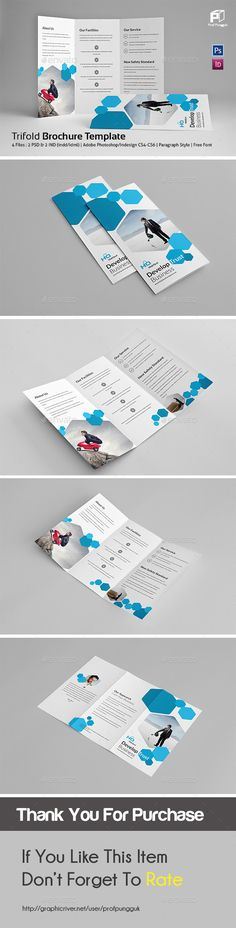 Business Trifold Vol.5 - Corporate Brochure Template PSD. Download here: http://graphicriver.net/item/business-trifold-vol5/12289617?s_rank=1717&ref=yinkira