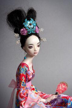 Ruby - Marina Bychkova enchanted doll