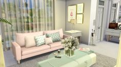 Sims 4 - Fashion Designer Modern House (Download   CC Creators Links)