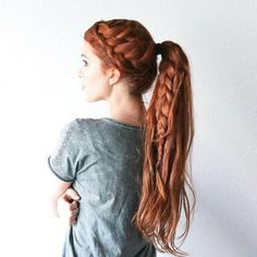 "4,029 Likes, 11 Comments - Dope Hair  Hairstyles Boston (@imallaboutdahair) on Instagram: ""Long red by @thefreckledfox"""