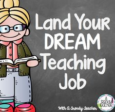 A Trendy Teacher: Land Your Dream Teaching Job  How to create an electronic teacher portfolio that will help you secure your dream job!