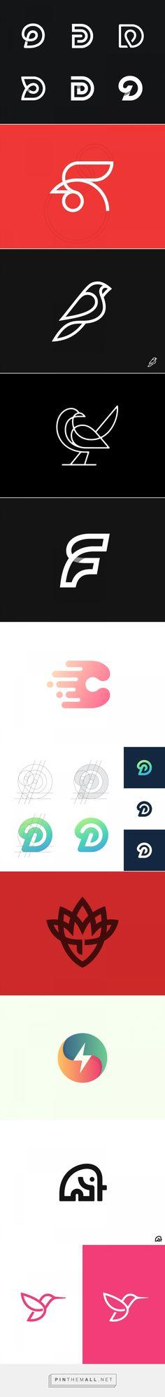 Kakha Kakhadzen y su genial colección de logotipos | Blog de diseño gráfico y creatividad. - created via https://pinthemall.net